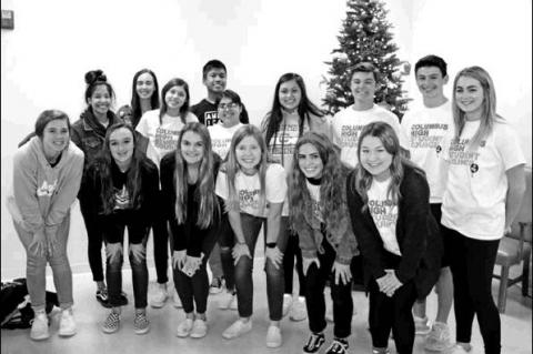 CHS Student Council spreads holiday cheer