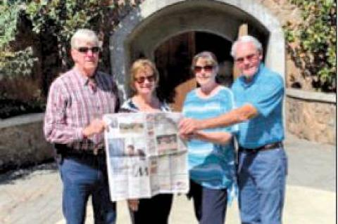 Citizen travels to wine country