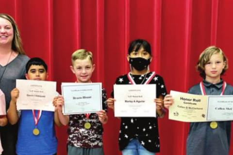 CES students presented awards