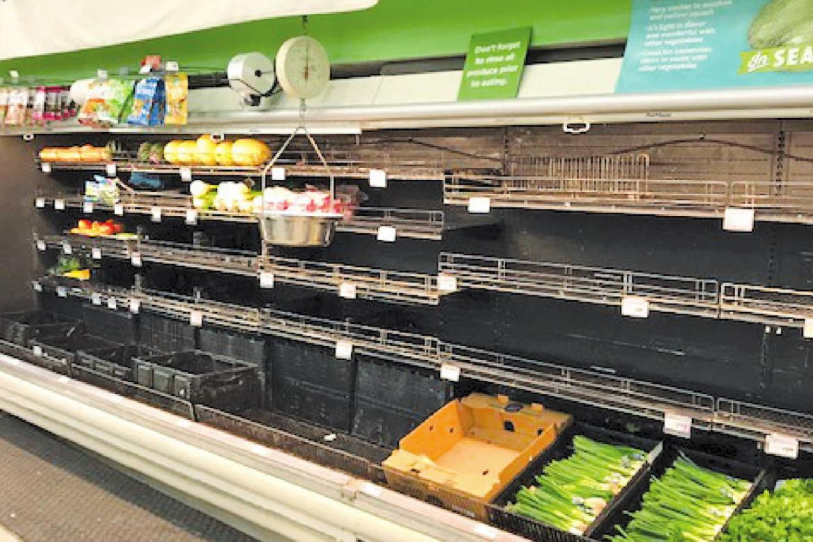 Local retailers play catch up after pre, post-freeze shopping